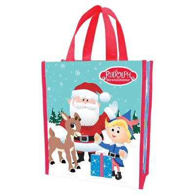 Rudolph Recycled Large Shopper Tote 65473