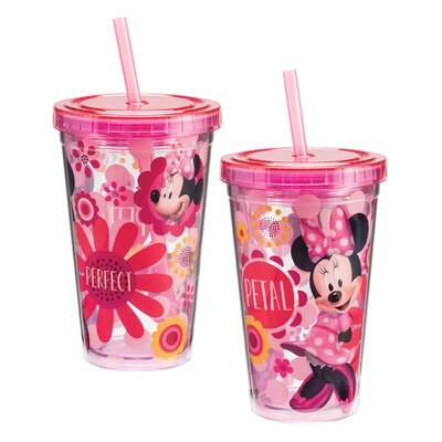 Disney Jr. Minnie's Bow Tique Acrylic 12 oz. Insulated Tumbler 90114