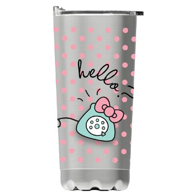 Hello Kitty Stainless Steel Vacuum 20 Oz. Insulated Tumbler 18009