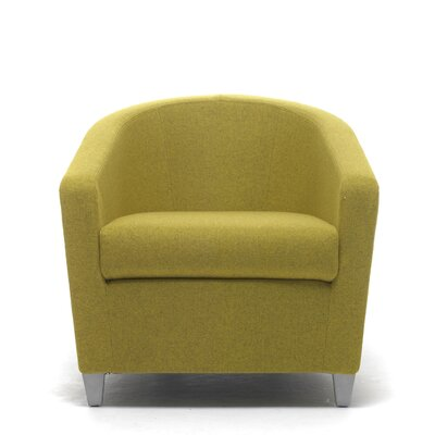 Playful Lounge Chair Upholstery: Chrome, Upholstery: Momentum Fuse Fabric Saffron