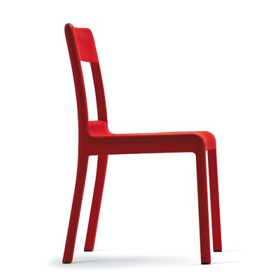 Pacific Side Chair Upholstery: Red