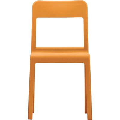 Pacific Side Chair Upholstery: Orange