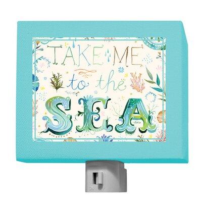 Take Me to the Sea Night Light