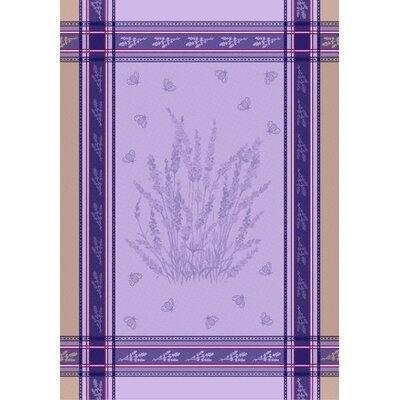 Lavender Bee Towel 8R-Lavender Bee