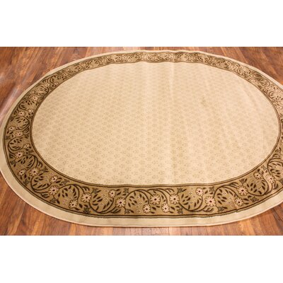 Cobbins Terrazzo Ivory Area Rug Rug Size: Rectangle 53 x 73