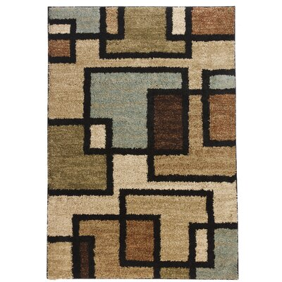 Avenue Extraordinary Green Area Rug Rug Size: 5 x 7