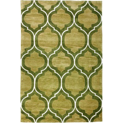 Expressions Wallaby Lattice Oasis Green Area Rug Rug Size: Rectangle 36 x 56