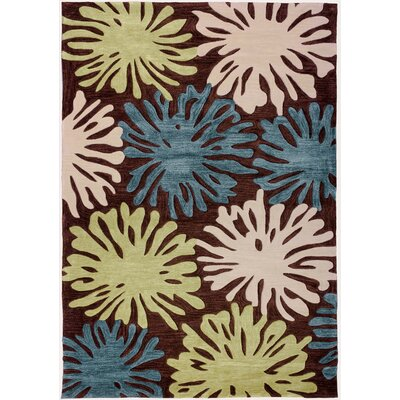 Expressions Splash Of Love Area Rug Rug Size: Rectangle 5 x 76