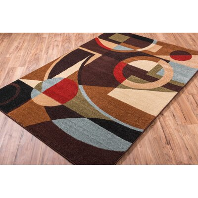 Sydney Beverly Black Area Rug Rug Size: Rectangle 710 x 106
