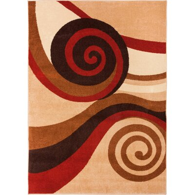 Sydney Zugilly Autumn Area Rug Rug Size: 53 x 73