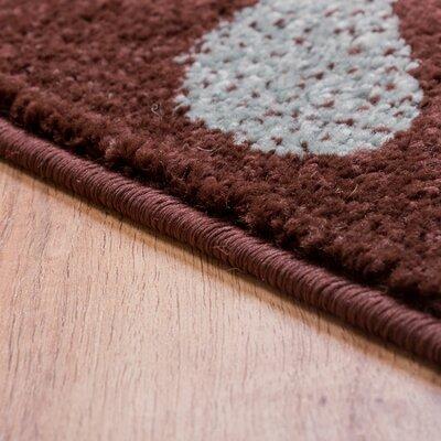 Sydney Warwick Floral Brown Area Rug Rug Size: Runner 23 x 73
