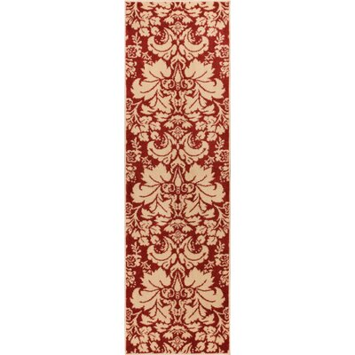 Sydney Damask Toile Autumn Area Rug Rug Size: Runner 23 x 73