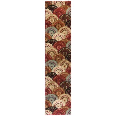 Avenue Circles and Circles Multi Area Rug Rug Size: Runner 18 x 72