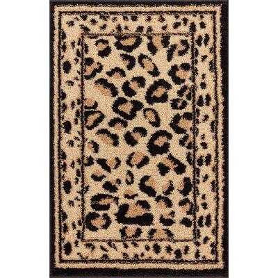 Royal Court Leopard Animal Print Doormat