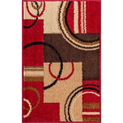 Royal Court Wheelhouse Abstract Geometric Doormat