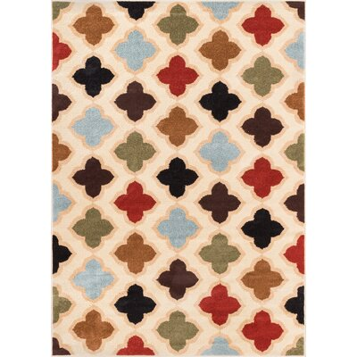 Sydney Lizzys Quatrefoil Area Rug Rug Size: Rectangle 53 x 73
