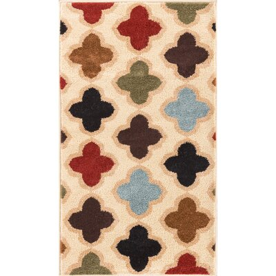 Sydney Lizzys Quatrefoil Area Rug Rug Size: Rectangle 710 x 106