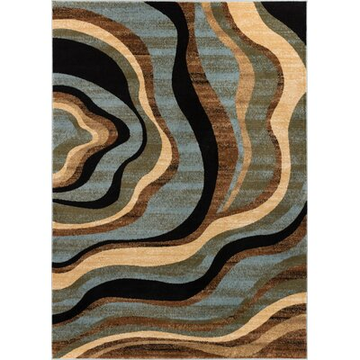 Barclay Nirvana Waves Area Rug Rug Size: 311 x 53
