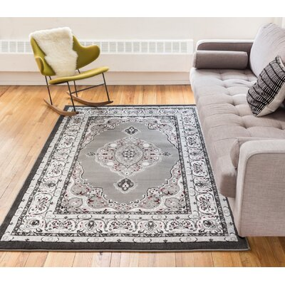 Burley Oak Gray Area Rug