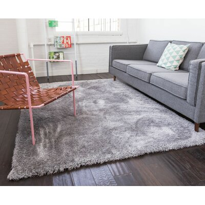 Mcclain Silver Area Rug Rug Size: Rectangle 67 x 910