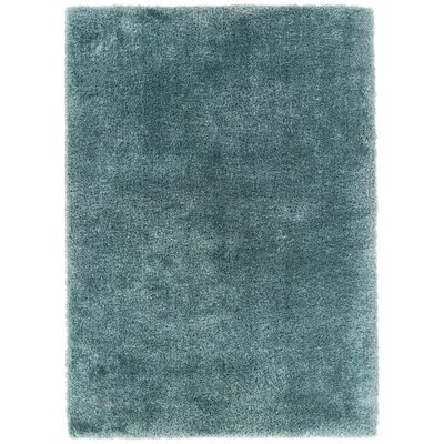 Feather Liza Blue Area Rug Rug Size: 6'7