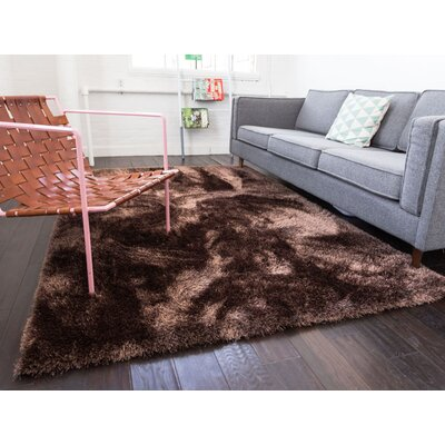 Feather Liza Taupe Area Rug Rug Size: 67 x 910