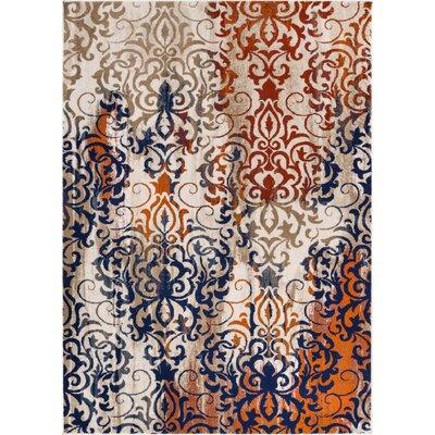 Luxury Handmade Beige Area Rug Rug Size: 710 x 106