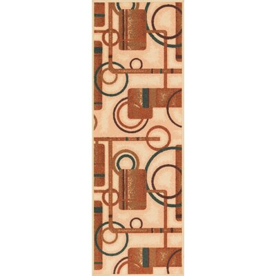 Covey Natural Prescott Rug Rug Size: Runner 27 x 12