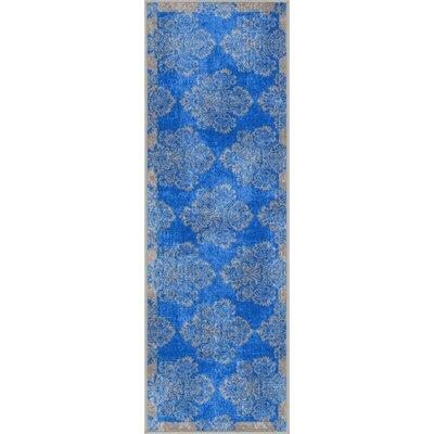 Eloy Blue Area Rug Rug Size: Runner 2 x 7