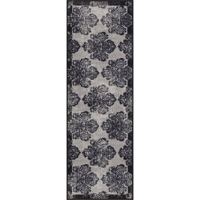 Eloy Gray Area Rug Rug Size: Runner 2 x 7