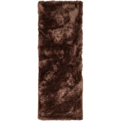 Mcclain Taupe Area Rug Rug Size: Runner 27 x 73