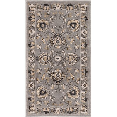 Colindale Gray Area Rug Rug Size: 1011 x 15
