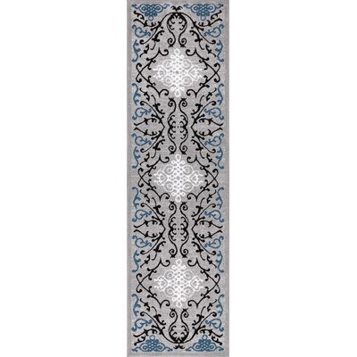 Tori Blue Area Rug Rug Size: Runner 2 x 73