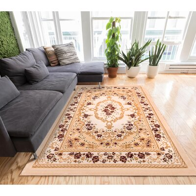 Comfy Living Area Rug Rug Size: 33 x 5