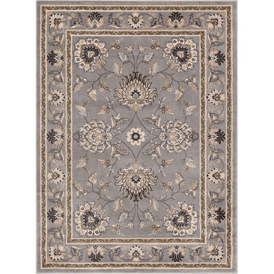 Colindale Gray Area Rug Rug Size: 67 x 93