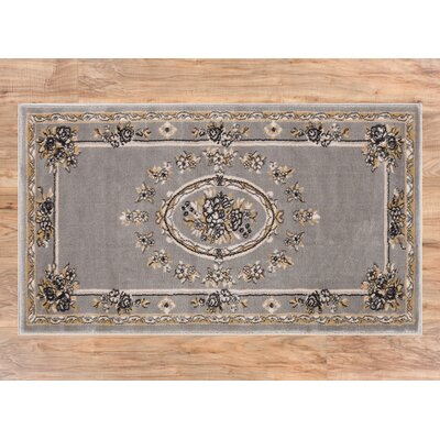 Colindale Gray Area Rug Rug Size: 23 x 311