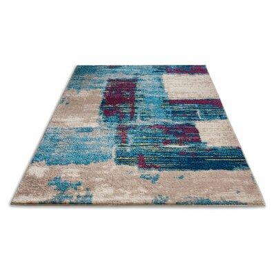 Frandsen Blue Area Rug Rug Size: 33 x 5