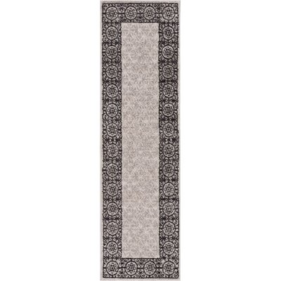 Metropolis Gray Area Rug Rug Size: Runner 2 x 73