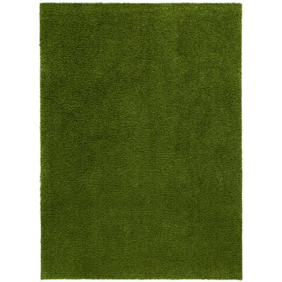 Grimes Artificial Green Indoor/Outdoor Area Rug Rug Size: 710 X 910