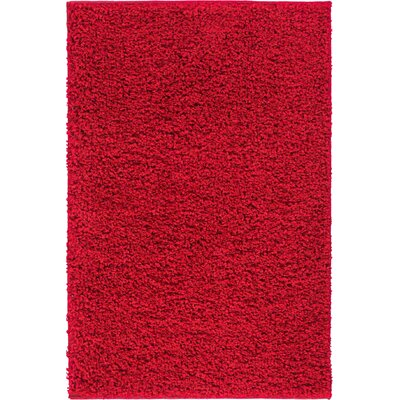 Dondre Red Indoor Area Rug Rug Size: 5' x 7'2''