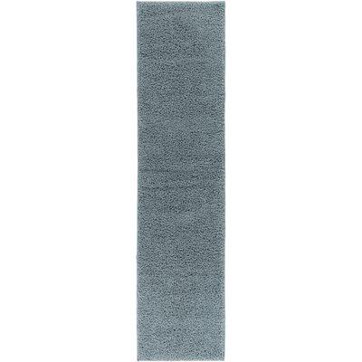 Dondre Light Blue Indoor Area Rug Rug Size: 33 x 53