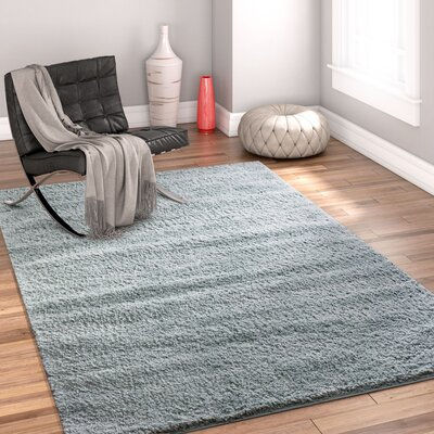 Dondre Light Blue Indoor Area Rug Rug Size: Rectangle 33 x 53