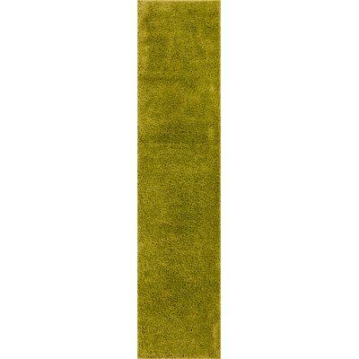 Dondre Green Indoor Area Rug Rug Size: Runner 2 x 73