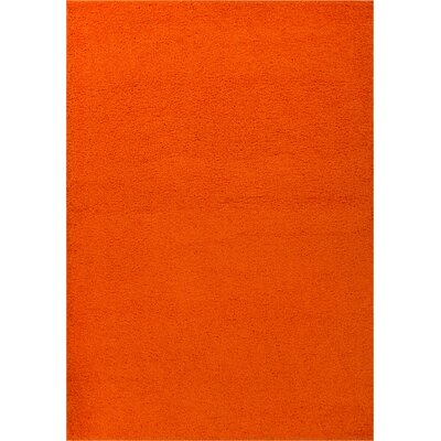 Dondre Orange Indoor Area Rug Rug Size: Rectangle 33 x 53