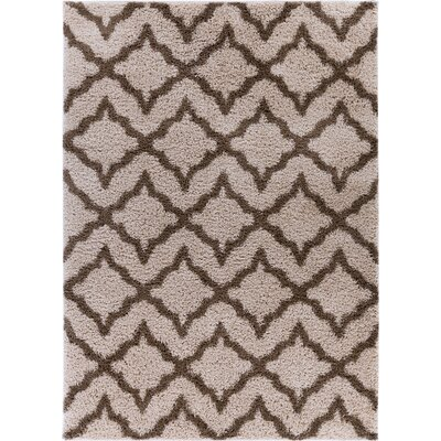 Walraven Beige/Brown Indoor Area Rug Rug Size: Rectangle 67 x 910