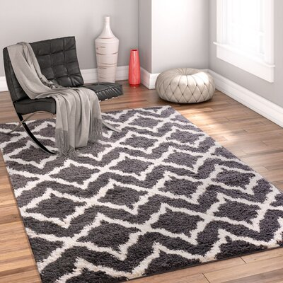 Walraven Gray/Gold Indoor Area Rug Rug Size: 33 x 53
