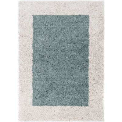 Dondre Light Blue Indoor Area Rug Rug Size: 5 x 72