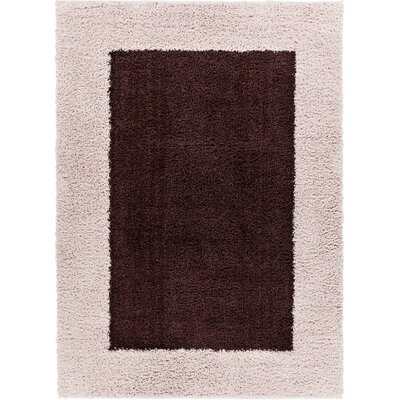 Dondre Brown Indoor Area Rug Rug Size: 33 x 53