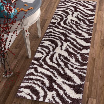 Dondre Brown Indoor Area Rug Rug Size: Runner 2 x 73
