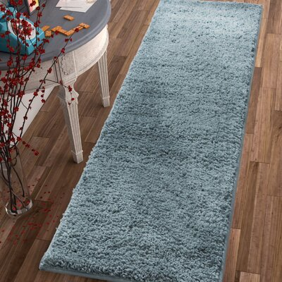 Dondre Light Blue Indoor Area Rug Rug Size: Runner 2' x 7'3''